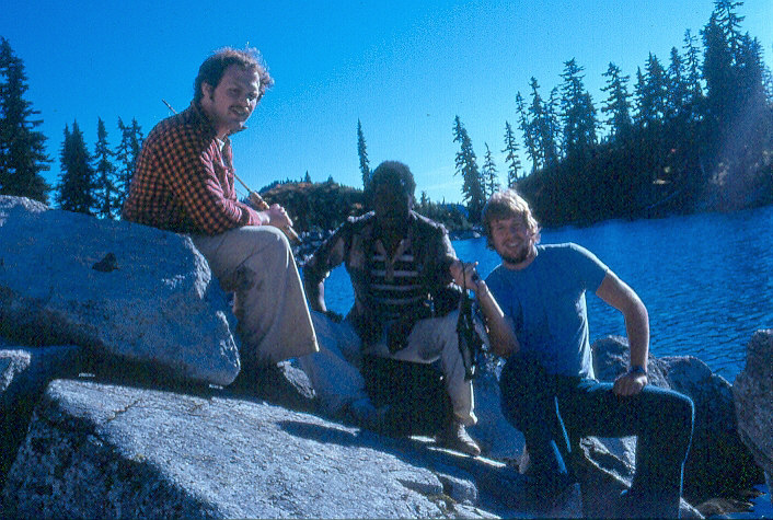 (Left-Right) Scott, Ozie and Brad at Lake Valhalla